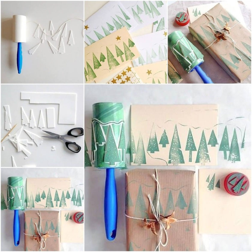 Decoration-Ideas-With-A-Lint-Roller